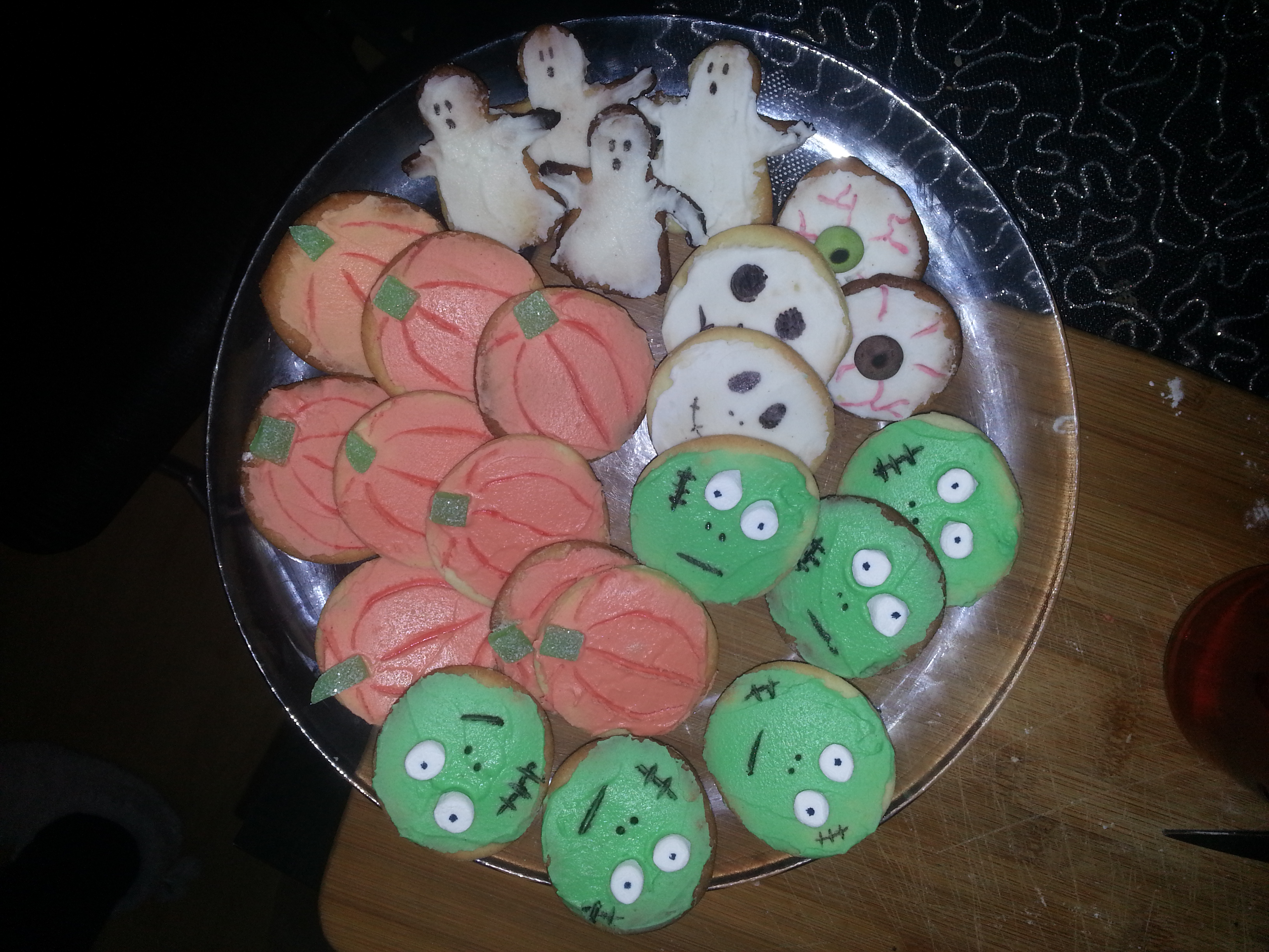 Sugar Cookies pour Halloween
