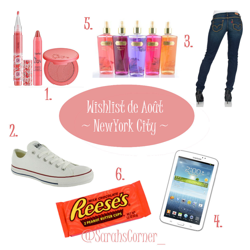 Wishlist Sarah New York City Aout