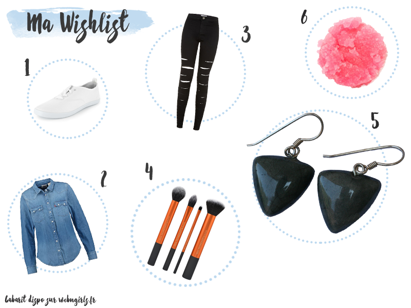 Wishlist Avril Sarah's Corner